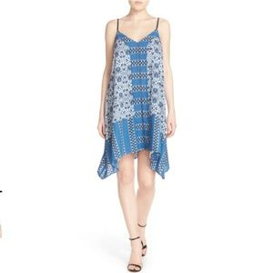 Adelyn Rea M Scarf Trapeze Dress Asymmetric casual